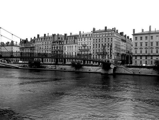 Lyon black & white