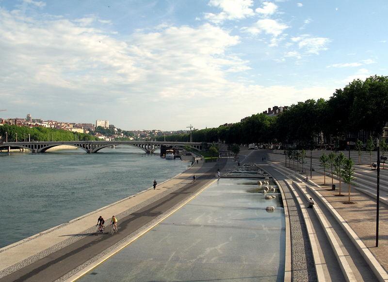 Lyon, die Stadt am Wasser - das neue Rhôneufer 6