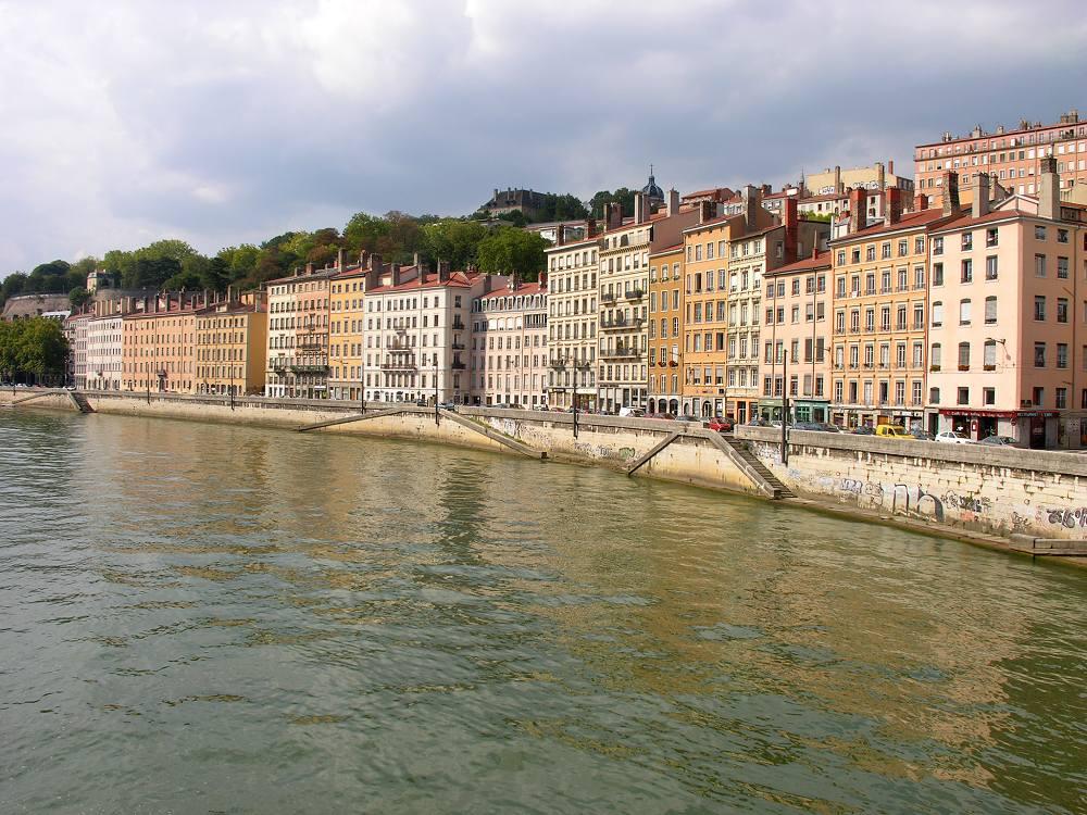 Lyon, Frankreich, Kais von Saône