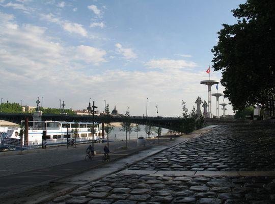 Lyon, Weltkulturerbe der UNESCO - das neue Rhôneufer 3