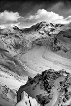 Lyskamm with Grenz Glacier