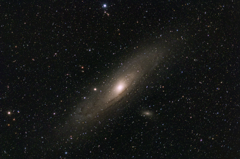 M 31 Andromedagalaxie.