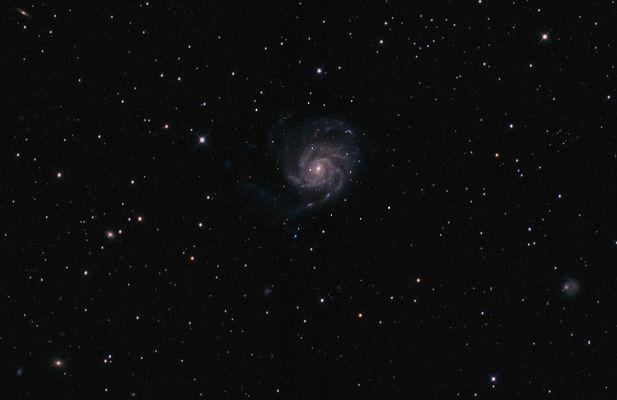 M101 Feuerrad-Galaxie vom März 2011