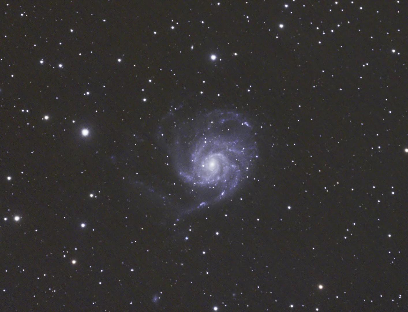 M101 - Feuerradgalaxie