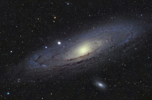 M31 Andromedagalaxie