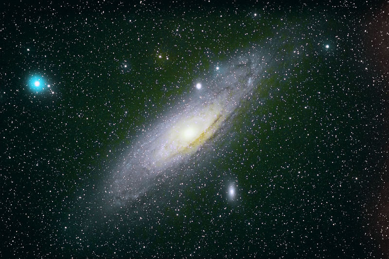 M31 Anromedagalaxie die 2.te
