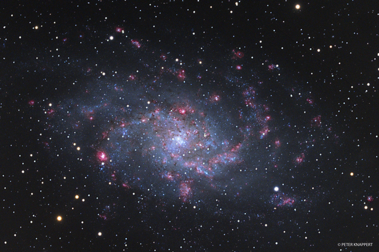 M33 in tiefem H-Alpha