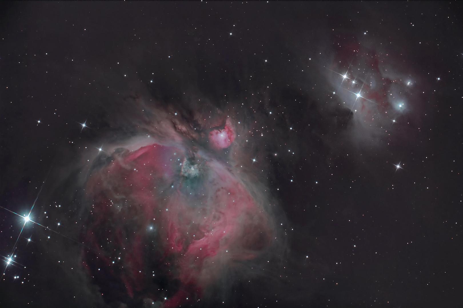M42, M43, NGC1977