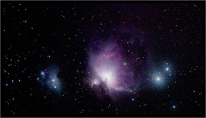M42 Nebel im ORION