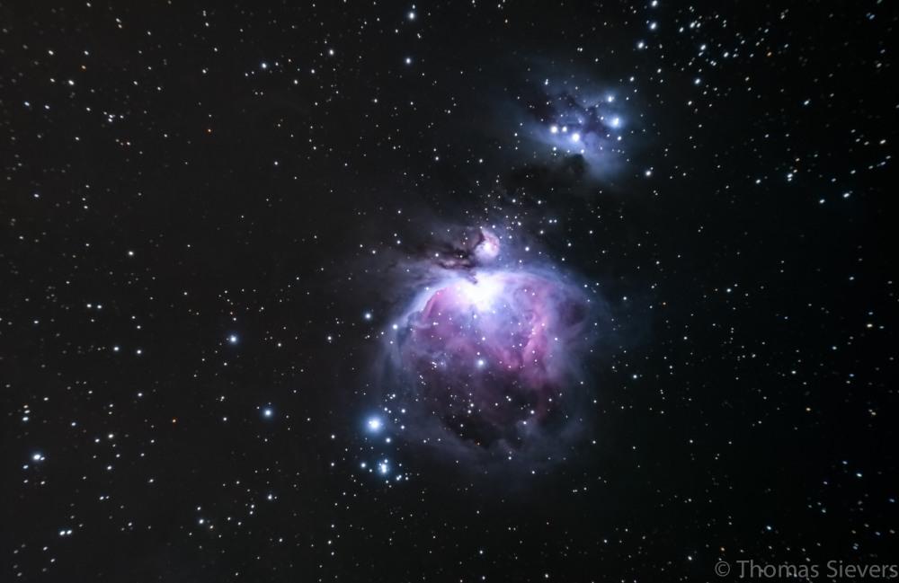 ... M42 Orion - Aufgenommen mit der Fuji X-E1 - neu bearbeitet ...