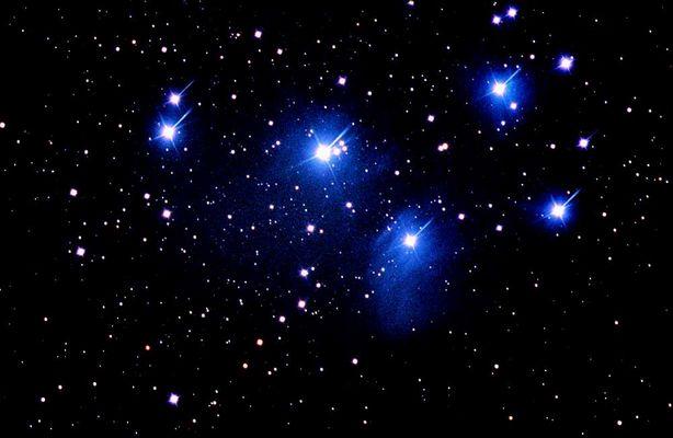 M45 die Plejaden