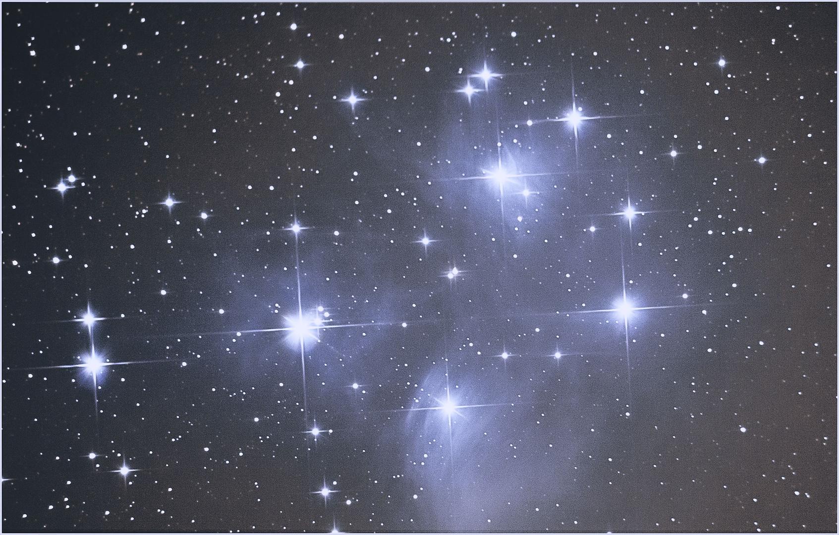 M45 - Plejaden (Remake vom 01.11. 2011)
