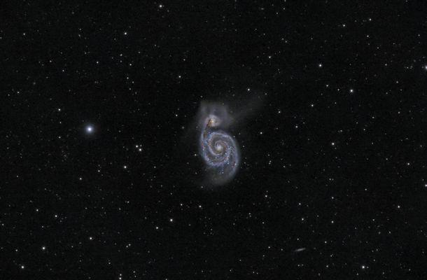 M51 aus Astrokooperation