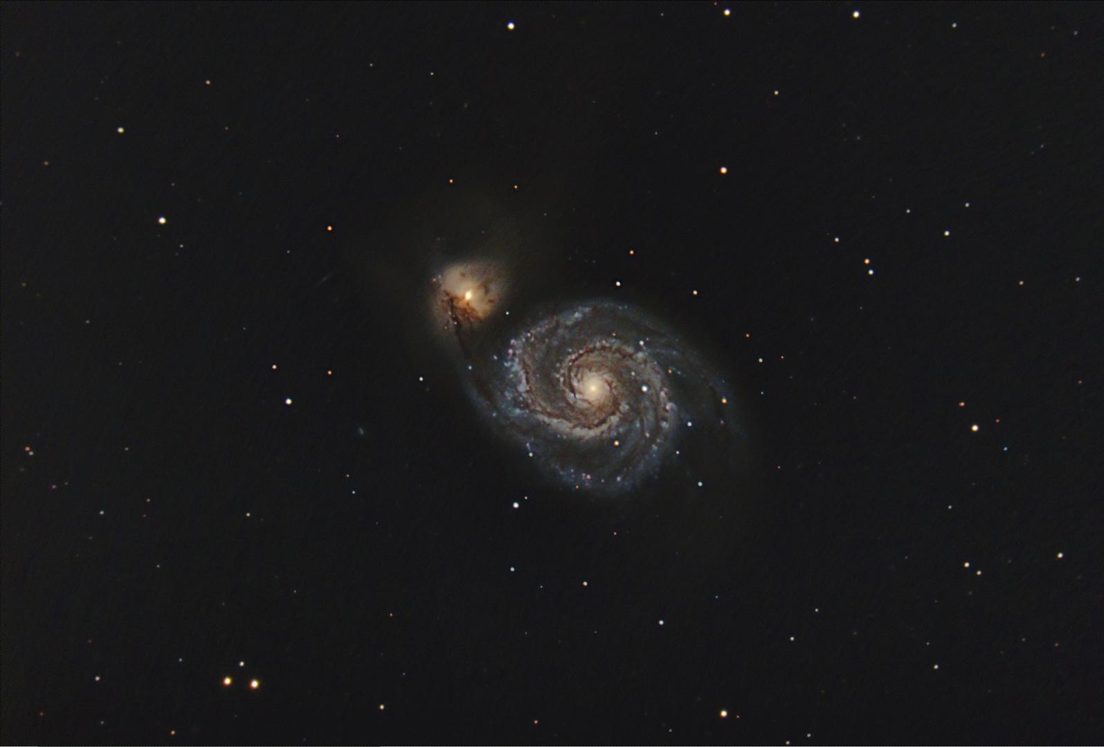 M51-Spiralgalaxie