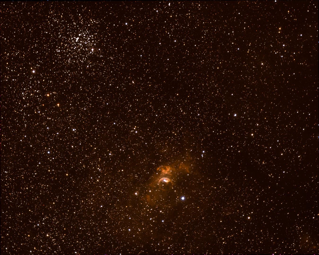 M52 und NGC7635
