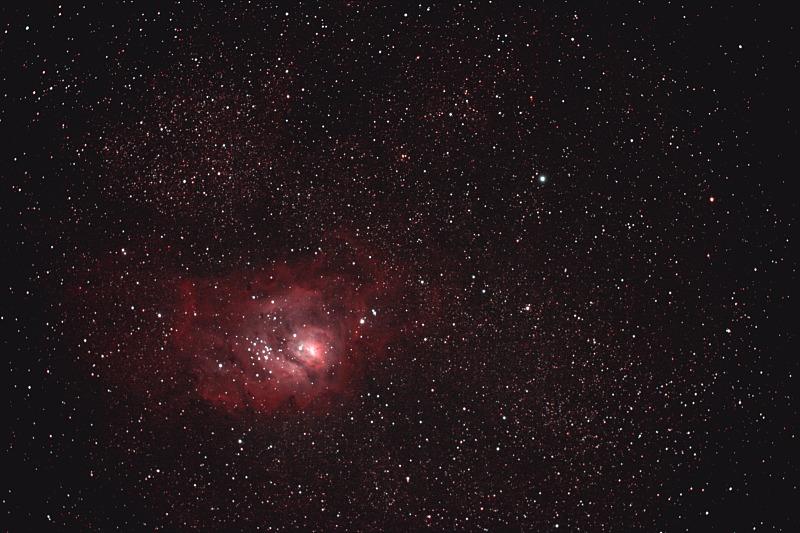 M8 Lagunennebel + NGC6530