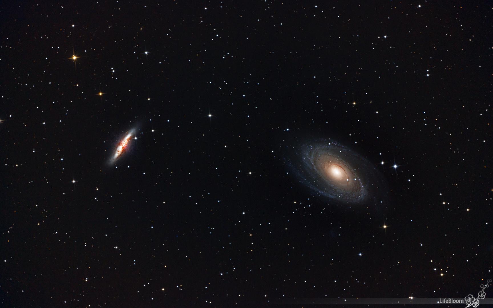 M81 & M82 - Das Galaxienpaar im Sternbild Großer Bär