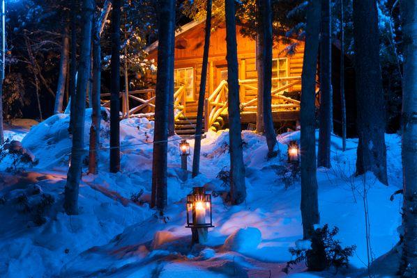 Ma cabane au Canada !