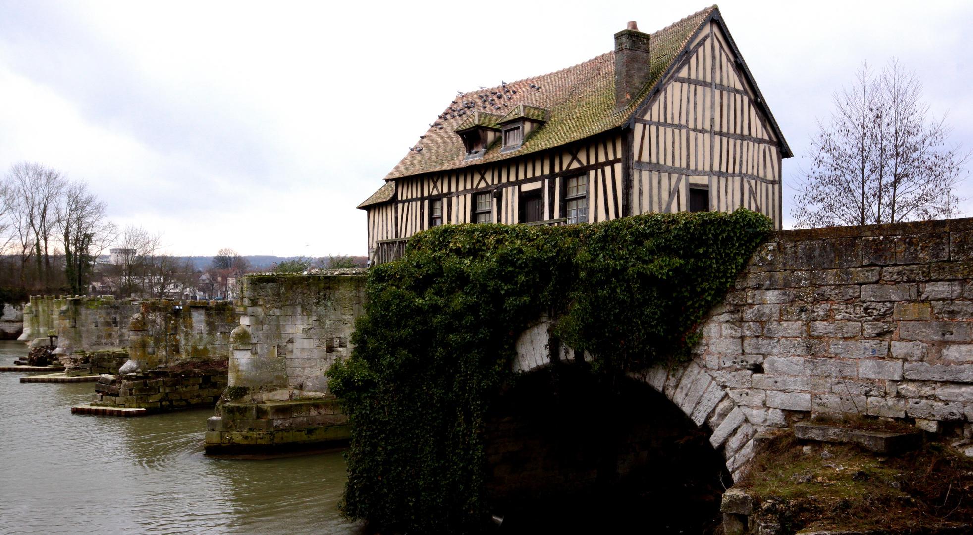 ma cabane sur le vieux pont