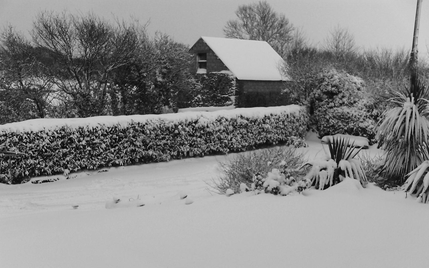 Ma campagne sous la neige ;)