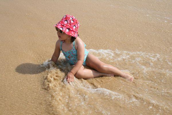 ma fille en vacances!