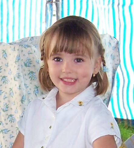 ma fille et son sourire