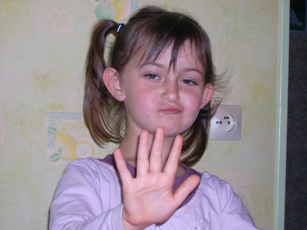 ma fille pour ces 5 ans