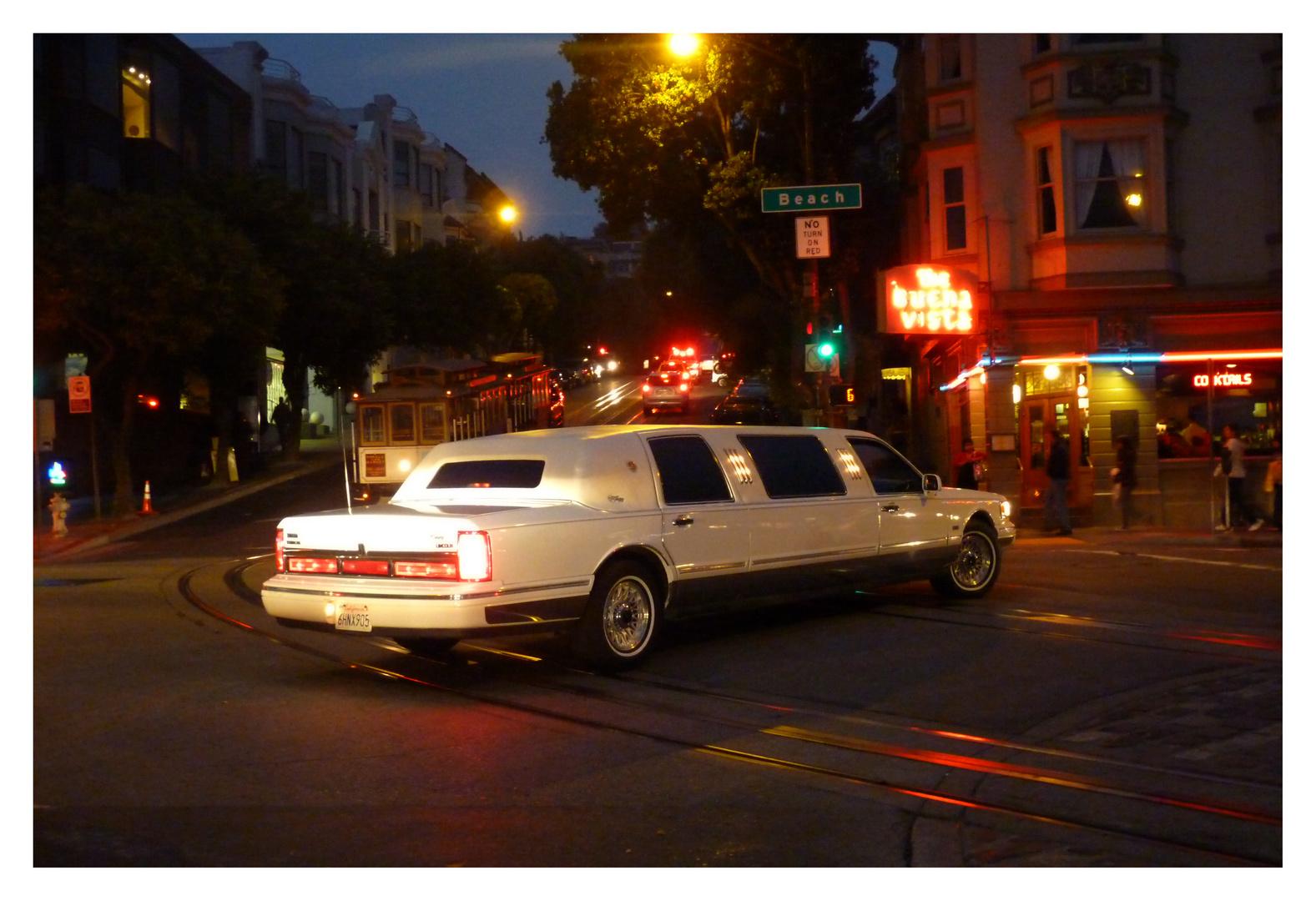 Ma limousine.........à SF