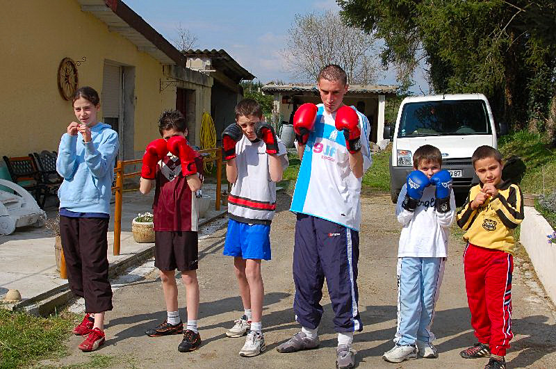 ma petite  equipe de boxeurs