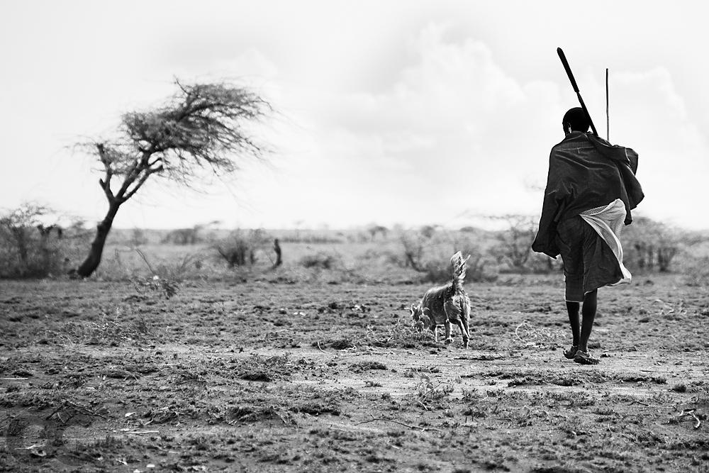 Maasai Warrior (mono)