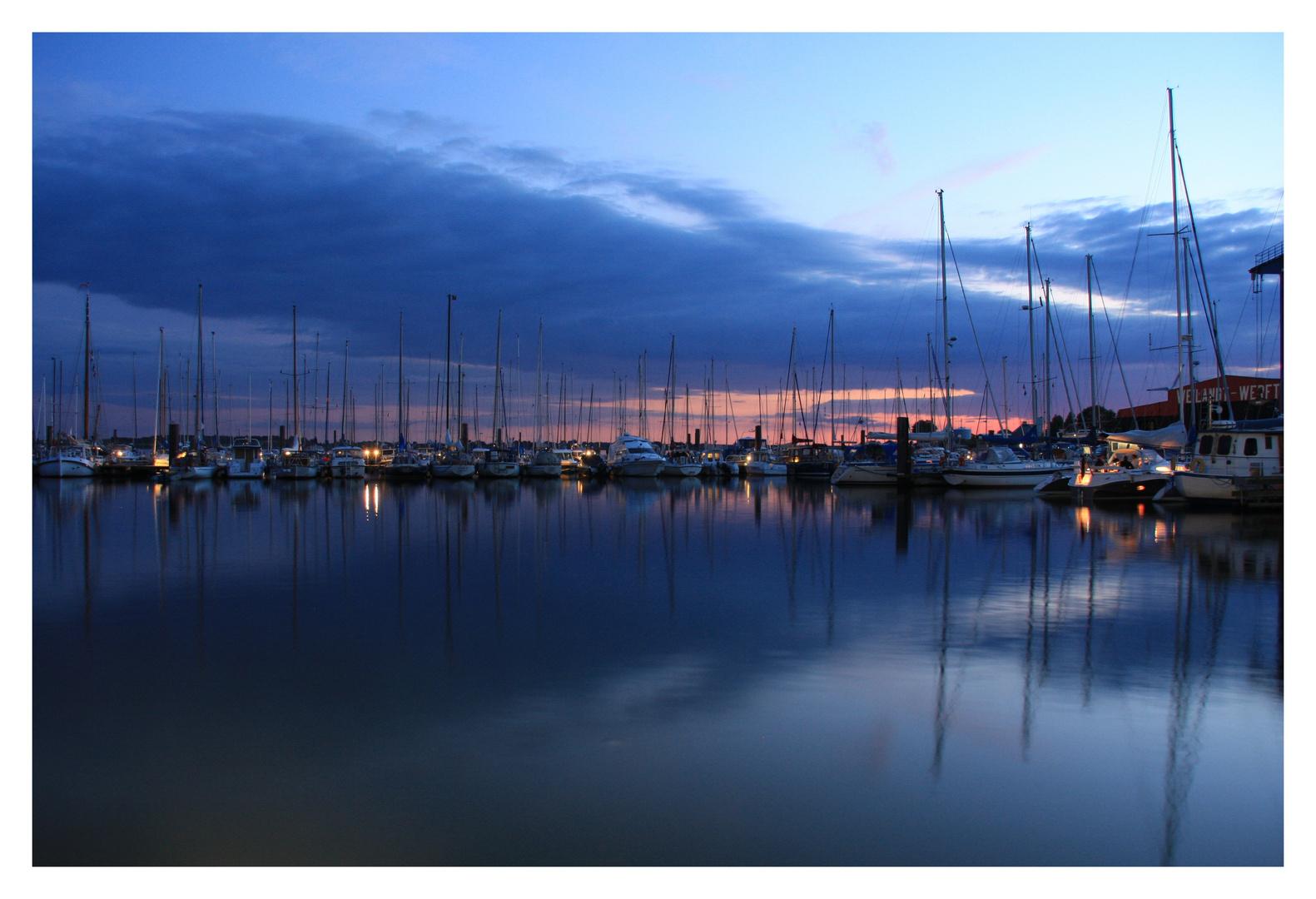 Maasholmer Hafen
