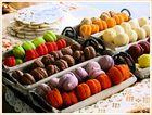 Macarons multicolores...