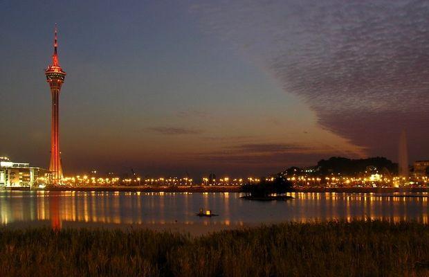 Macau in der blauen Stunde