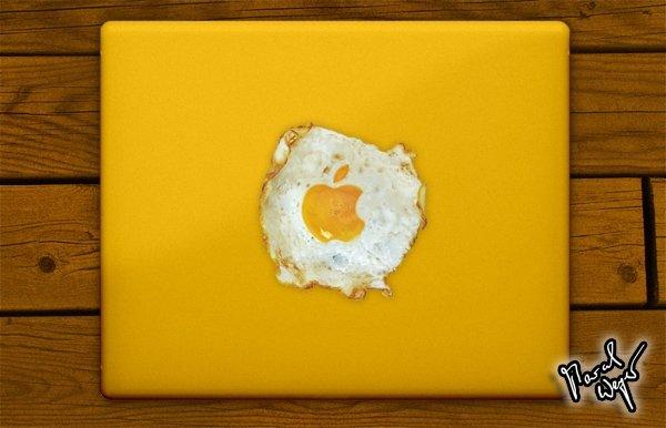 MacBookPro Spiegeleier