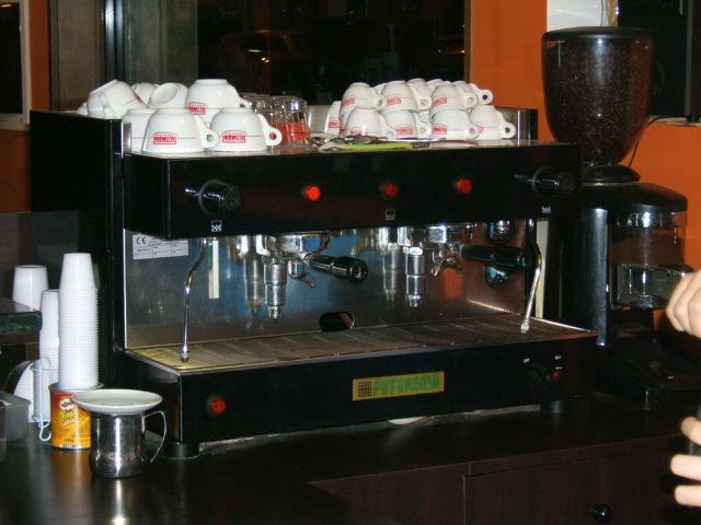 macchina di caffe