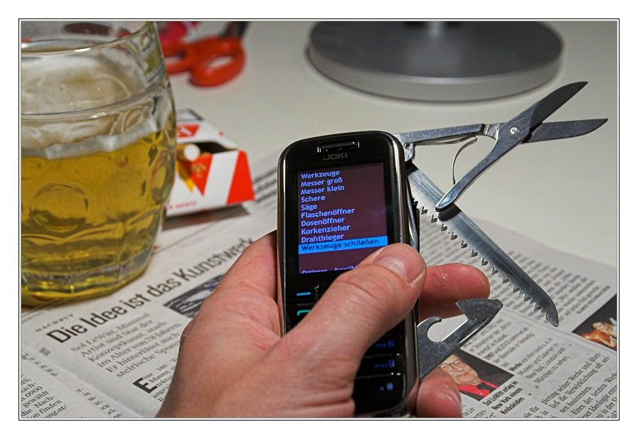 MacGyvers neues Handy