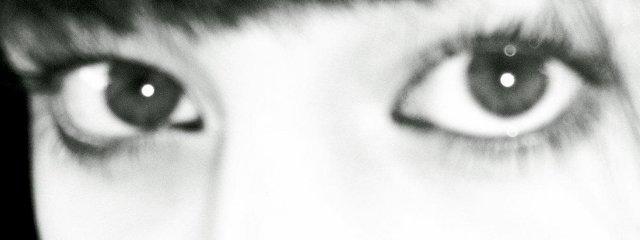 mach die Augen zu und küss mich