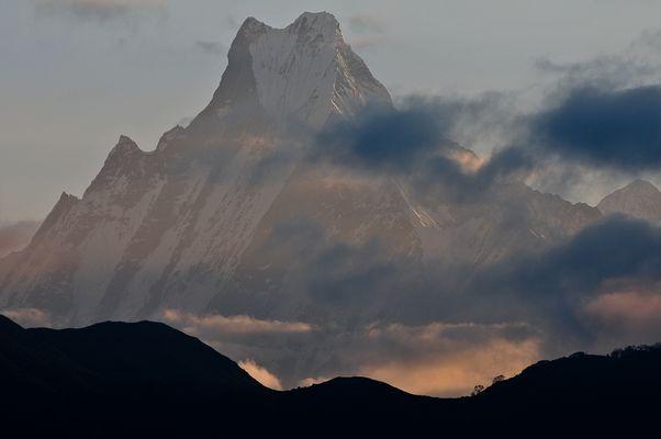 Machapucharé, 6997 Meter im Annapurna Massif, Nepal