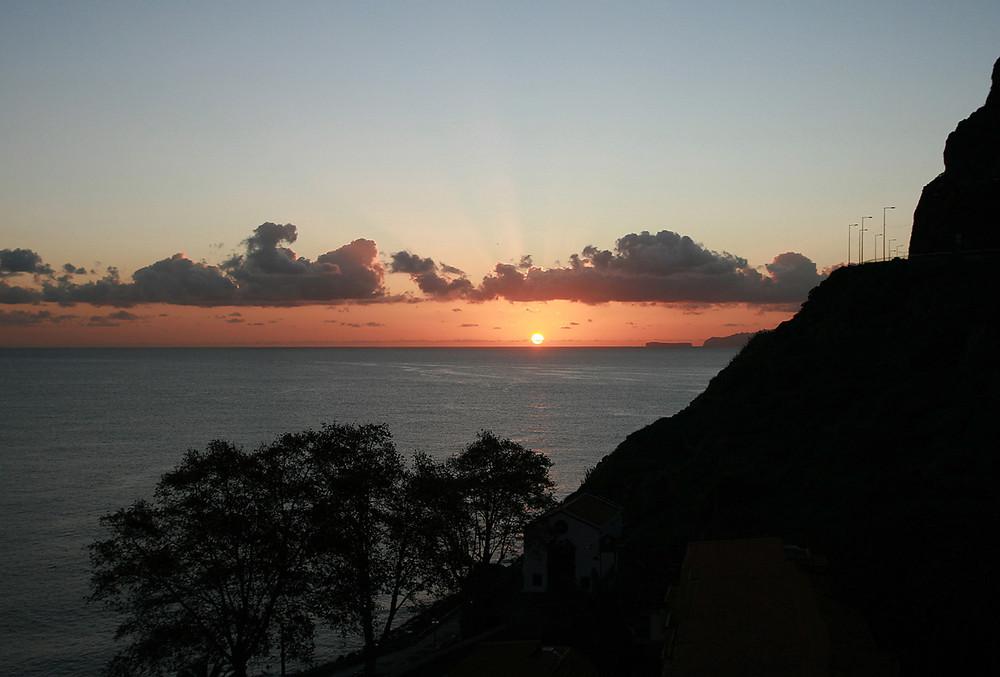 Machico - Sonnenaufgang