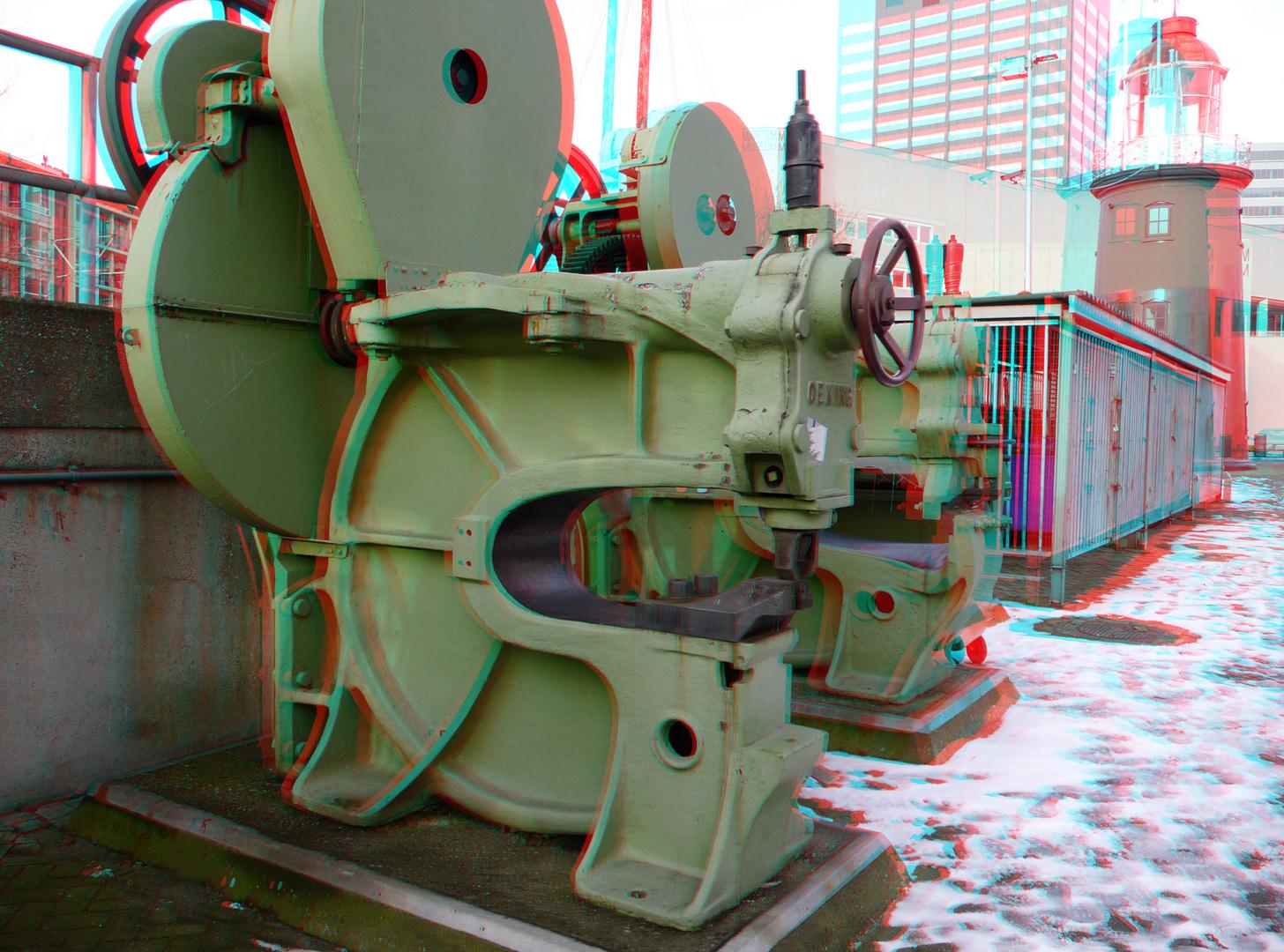 Machine Hafenmuseum Rotterdam stereo