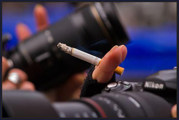 Macht ´ne Zigarette bessere Bilder?