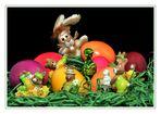 Macht voran, sonst ist Ostern bald vorbei !