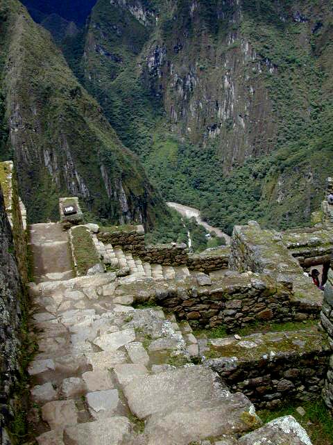 Machu Picchu, etwas andere Perspektive