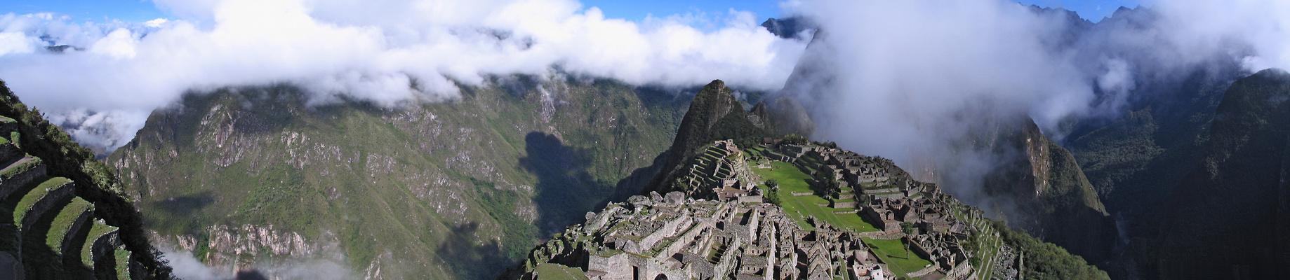 Machu Picchu im Morgenlicht