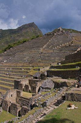 Machu Picchu ist umwerfend