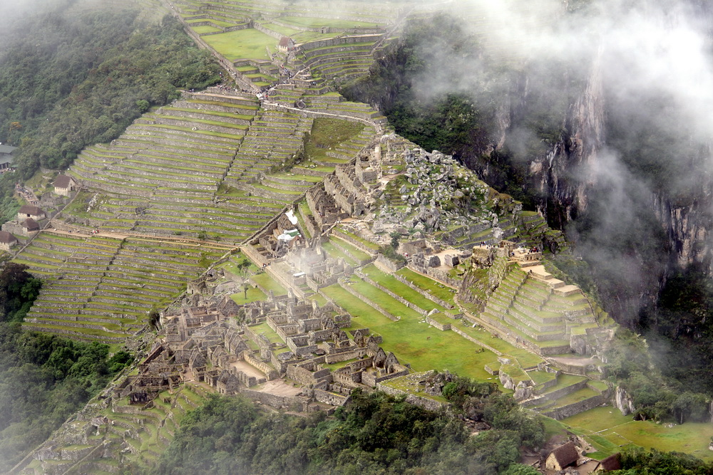 Machu Picchu vom Waynapicchu