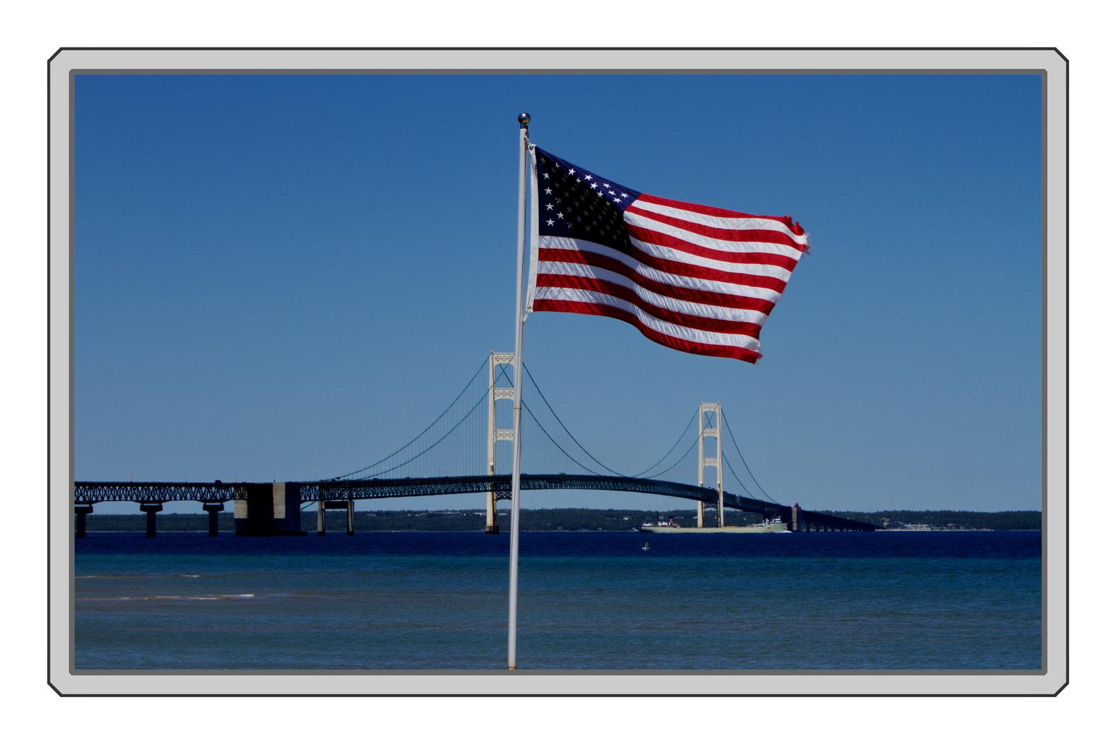 Mackinac Brücke