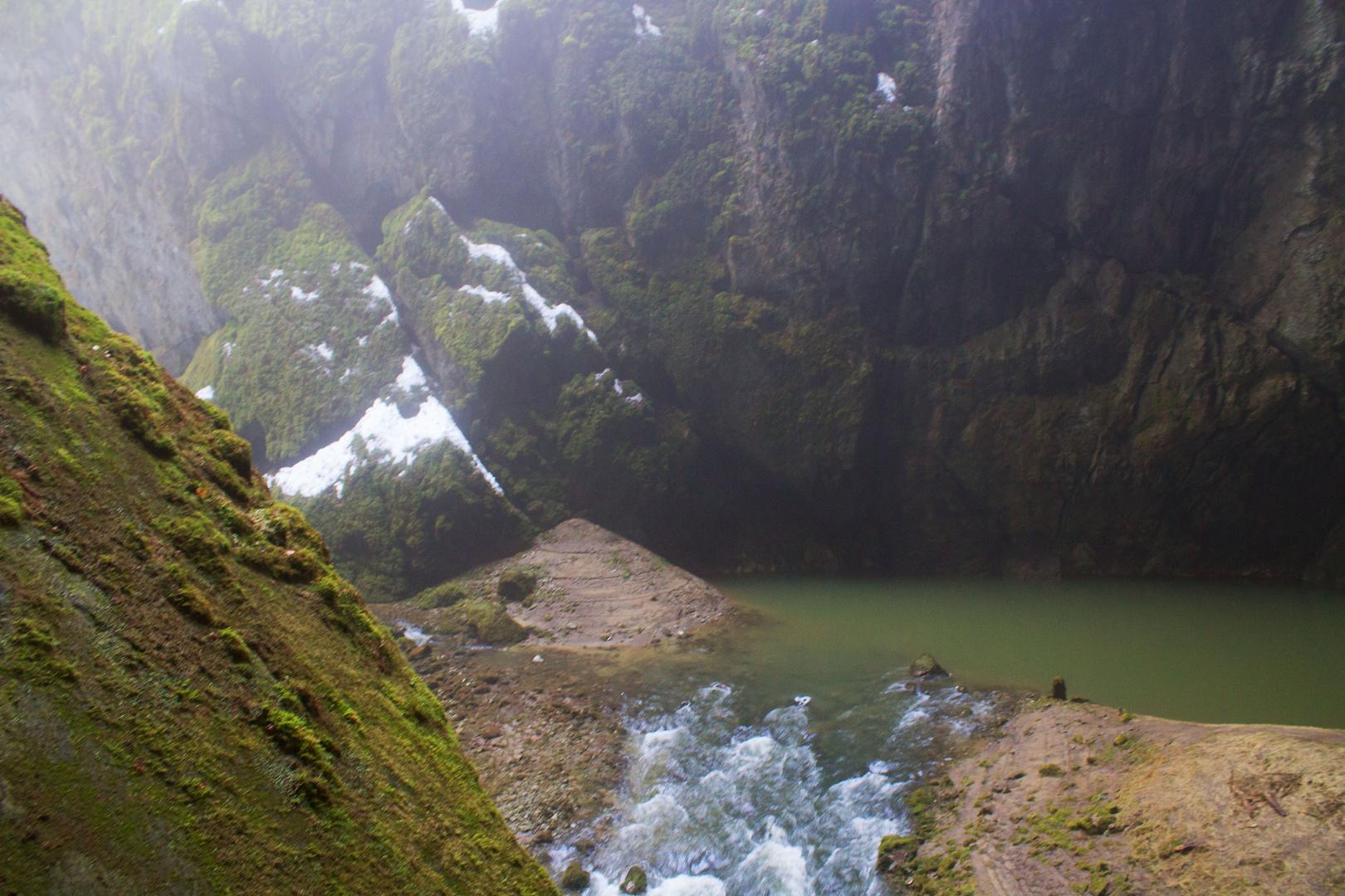 Macocha Höhle Tschechien