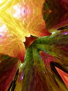 macro light leaf experiment...