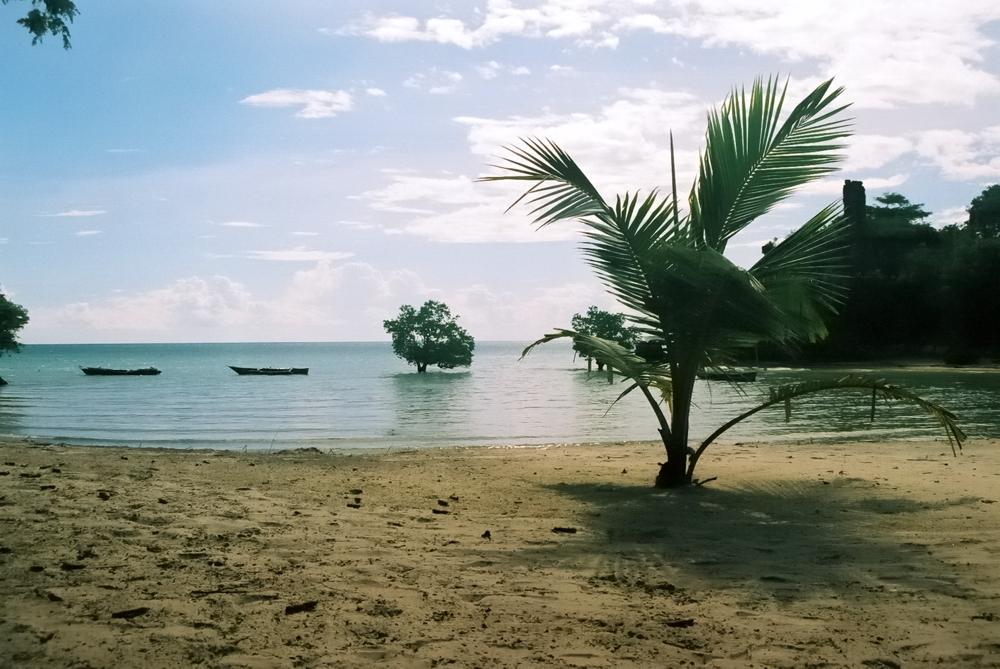 Madagaskar, Spaziergang am Strand